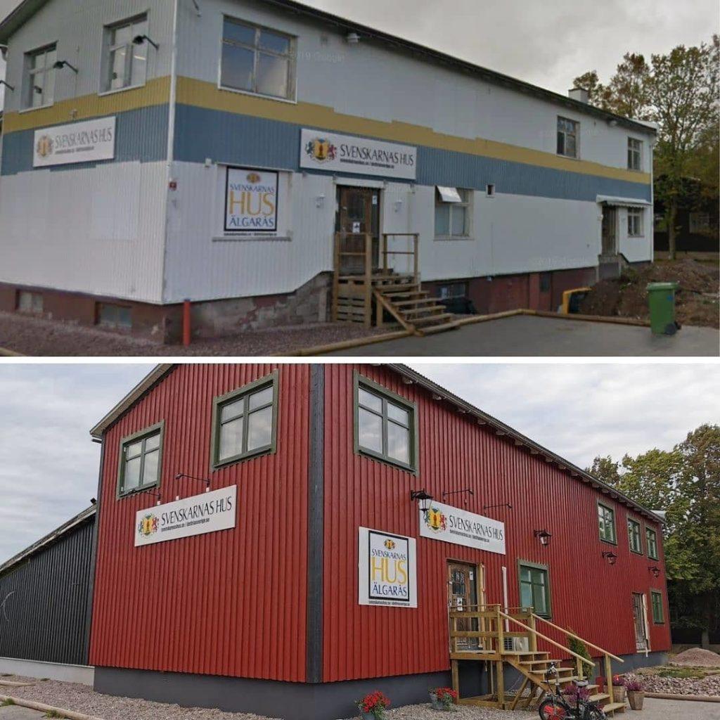Omfattande renovering av huset (och det har skett ännu mer sedan den understa bilden togs) har lyft det till helt nya nivåer.