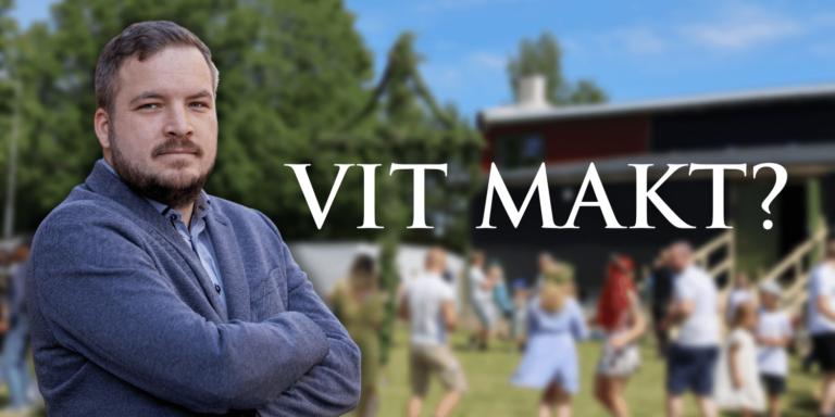 Det fria Sverige - Är vi en organisation för vit makt?